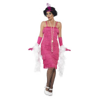 Charleston Kleid Flapper Kostüm 20er Jahre Fasching Mottoparty
