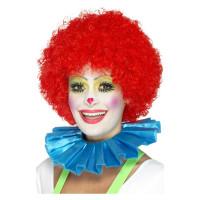 Clown Halskrause blau Kostümzubehör Clown