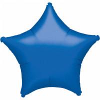 Folienballon Stern Blau Art.30592 Partydeko Ballon Geburtstag Hellblau