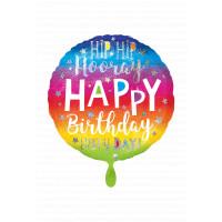 Folienballon XXL Jumbo Happy Birthday Art.39955 Partydeko Ballon