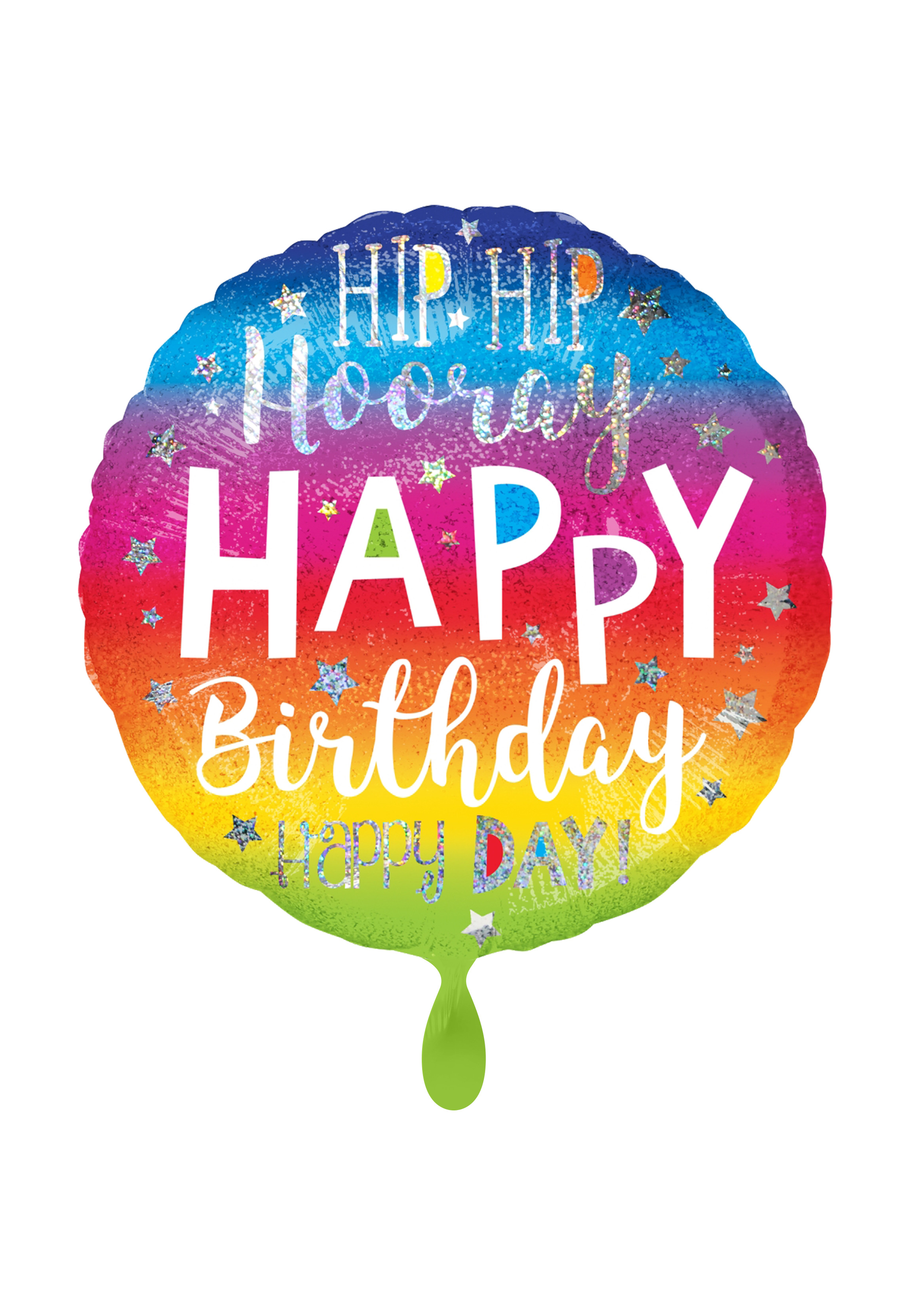 Partydeko Ballon Geburtstag kaufen   Happy Birthday Deko
