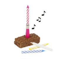 Geburtstag Kerzenset Musikkerze Partydeko Kerze