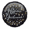 Folienballon Happy Birthday Art. 37714 Partydeko Ballon Geburtstag Bunt