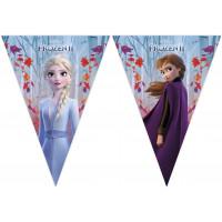 Frozen 2 Wimpelbanner Disney Partydeko Kindergeburtstag Eiskönigin