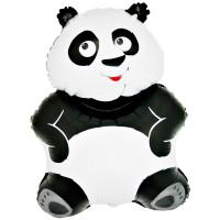 Folienballon Panda Bär Partydeko Ballon Tiere Kindergeburtstag
