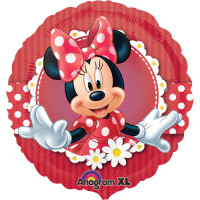 Minnie Mouse Folienballon Art.24813 Disney Partydeko Kindergeburtstag