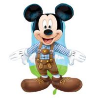 Folienballon Mickey Mouse Lederhose Disney Partydeko Kindergeburtstag