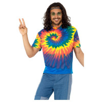 Hippie T-Shirt 60er 70er Jahre Kostüm Flower Power Peace