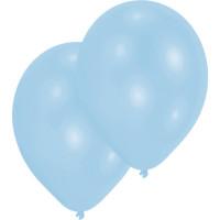 Luftballons Hellblau Partydeko Geburtstag Blue 10 Stück