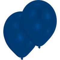 Luftballons Blau Royal Partydeko Geburtstag Blue 10 Stück