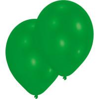Luftballons Grün Partydeko Geburtstag Green 10 Stück