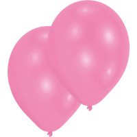 Luftballons Rosa Baby Partydeko Geburtstag Rosa 10 Stück