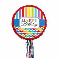 Pinata Happy Birthday Partydeko Geburtstag Art. 33521