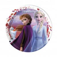 Frozen 2 Teller Disney Partydeko Kindergeburtstag Eiskönigin Elsa Anna