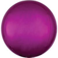 Folienballon Orbz Rund Pink Art.28206 Partydeko Kugelballon