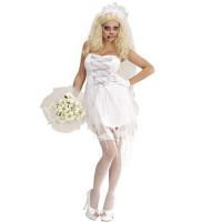 Halloween Kostüm Zombie Braut Horror Bride Art. 87242