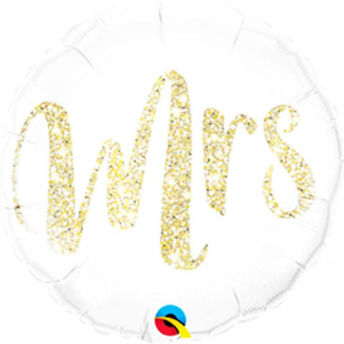 Folienballon Hochzeit Mrs. Partydeko Ballon Love