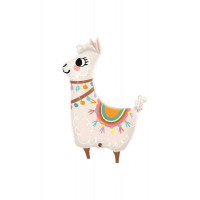 Folienballon Lama Partydeko Ballon Tiere Kindergeburtstag