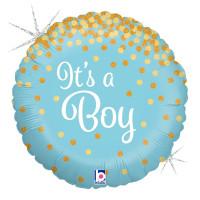 Folienballon Its a Boy Ballon Partydeko Babyparty Geburt
