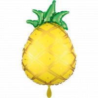 Folienballon Ananas Pineapple Partydeko Ballon Geburtstag