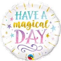 Folienballon Have a magical Day Partydeko Ballon Geburtstag