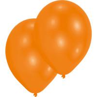 Luftballons Orange Partydeko Geburtstag Orange 10 Stück