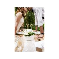 Cake Topper Love Gold zur Hochzeit Kuchendeko