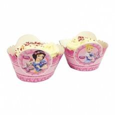 Prinzessin Cupcake / Muffin-Wraps Disney Partydeko Geburtstag