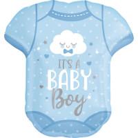 Folienballon XXL Its a Boy T-Shirt Art. 41912 Partydeko Ballon Babyparty Junge