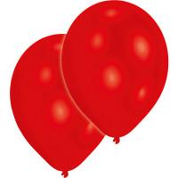 Luftballons Rot Red Partydeko Geburtstag 10 Stück