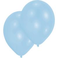 Luftballons Hellblau Pearl Partydeko Geburtstag 10 Stück