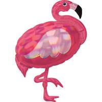 Folienballon Flamingo XXL Pink Partydeko Ballon Geburtstag