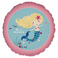 Folienballon Meerjungfrau Partydeko Kindergeburstag