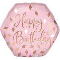 Folienballon Happy Birthday Jumbo Art.42115 Partydeko Ballon Geburtstag