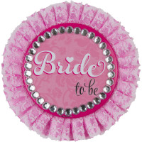 Junggesellenabschied JGA Button Bride To Be Rosa