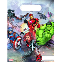 Avengers Partytüten 6 Stück Partydeko Superhelden