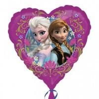Frozen Ballon Herz Disney Partydeko Kindergeburtstag