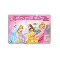Prinzessin Kerze Disney Partydeko Geburtstag Kindergeburtstag