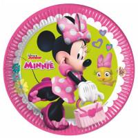 Minnie Mouse Teller 8 Stück Disney Partydeko Kindergeburtstag