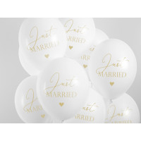 Hochzeit Luftballon Just Married Partydeko Ballon