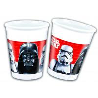 Star Wars Force Awakens Becher Partydeko Geburtstag