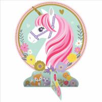 Einhorn Tischdeko Centerpiece Partydeko Geburtstag Unicorn