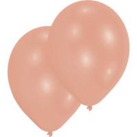 Luftballons Rosegold Partydeko Geburtstag 10 Stück