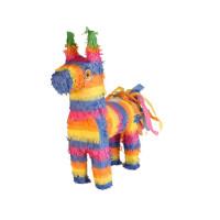 Esel Lama Pinata bunt Partydeko Geburtstag Kindergeburtstag Unicorn