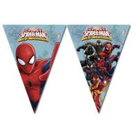 Flaggenbanner Spiderman Kindergeburtstag Partydeko Geburtstag Marvel