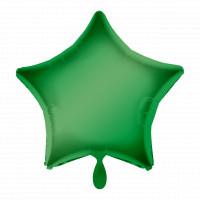 Folienballon Stern Grün Art.30557 Partydeko Ballon Geburtstag