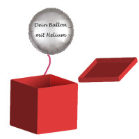 Heliumfüllung für einen Folienballon