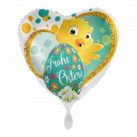Ostern Folienballon Küken Herzballon Ballongruß zu Ostern