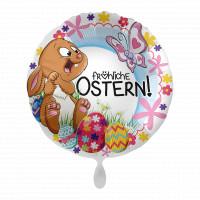 Ostern Folienballon Osterhase Frohe Ostern