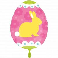 Ostern Folienballon Osterhase Osterei 2 Design